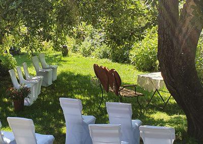 Heiraten auf dem Hof alte Zeiten